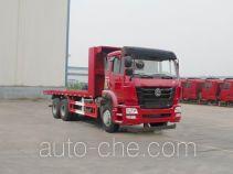 Sinotruk Hohan flatbed truck ZZ5255TPBM4046D1