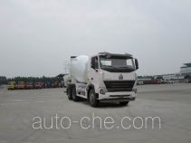 Sinotruk Howo concrete mixer truck ZZ5257GJBN4347P1