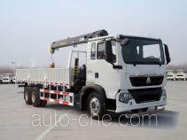 Sinotruk Howo truck mounted loader crane ZZ5257JSQM584GD1