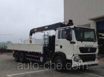 Sinotruk Howo truck mounted loader crane ZZ5257JSQM584GD1H