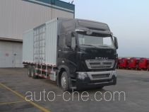 Sinotruk Sitrak box van truck ZZ5257XXYN584HC1