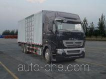 Sinotruk Sitrak box van truck ZZ5257XXYV584HC1