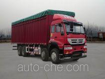 Sida Steyr soft top box van truck ZZ5311CPYM4661D1