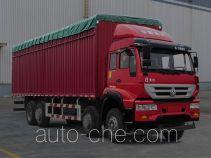 Huanghe soft top box van truck ZZ5314CPYK46G6D1