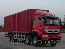 Huanghe box van truck ZZ5314XXYK4766D1
