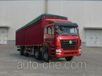 Sinotruk Hohan soft top box van truck ZZ5315CPYK47G3C1