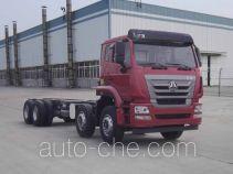 Sinotruk Hohan truck mounted loader crane chassis ZZ5315JSQN4266E1