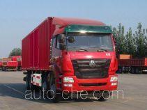 Sinotruk Hohan box van truck ZZ5315XXYN4666E1C