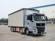 Sinotruk Sitrak soft top box van truck ZZ5316CPYM466GD1