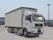 Soft top box van truck Sinotruk Sitrak