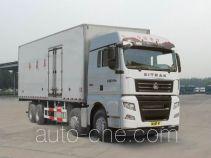 Sinotruk Sitrak refrigerated truck ZZ5316XLCV466HE1