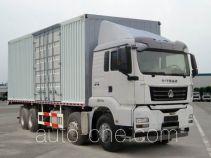 Sinotruk Sitrak box van truck ZZ5316XXYN386MD1