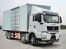 Sinotruk Sitrak box van truck ZZ5316XXYN466MD1