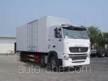 Sinotruk Howo box van truck ZZ5317XXYN466WE1