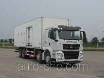 Sinotruk Sitrak refrigerated truck ZZ5326XLCN466GE1K