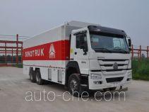 Sinotruk Howo powder spreader truck ZZ5347TFSN4647D1