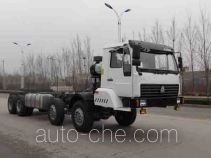 Huanghe special purpose vehicle chassis ZZ5431N3871D2